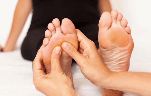 Массаж при артрите пальцев ног