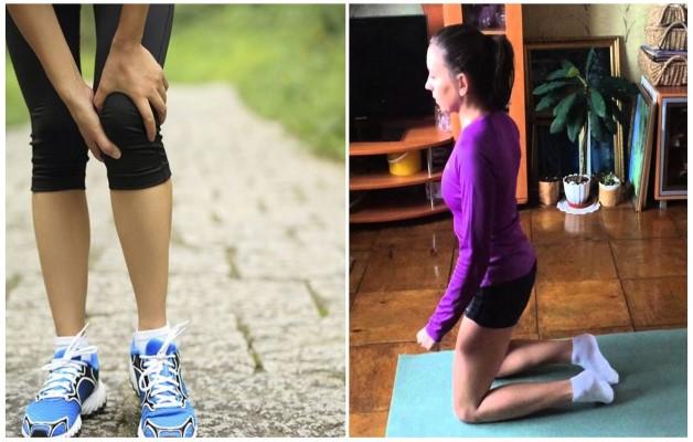 Ходьба на четвереньках при артрозе колена