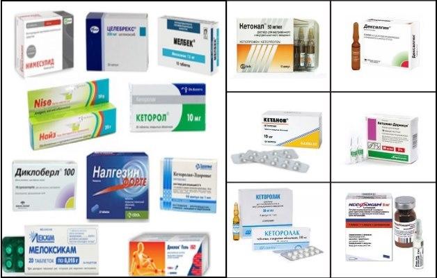 обезболивающие нестероидные препараты