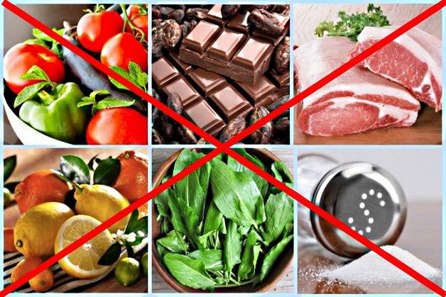 Продукты, которые нельзя есть при ревматоидном артрите